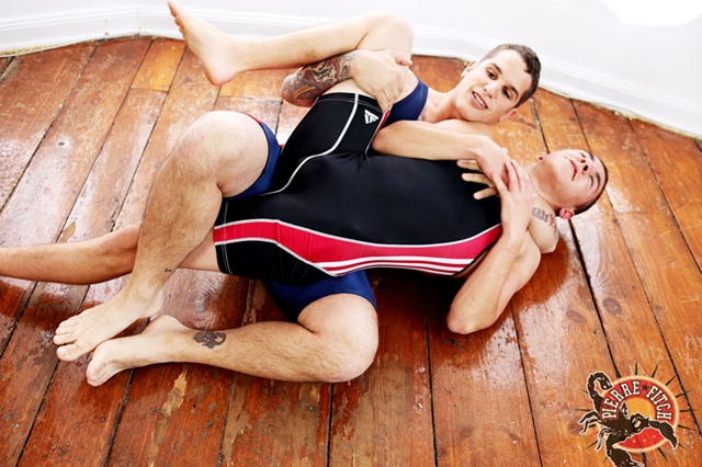 Lycra-spandex-wrestling-suit-Pierre-Brian-Ty-nude-wrestling-ass-fucking-Pierre-Fitch-04-photo