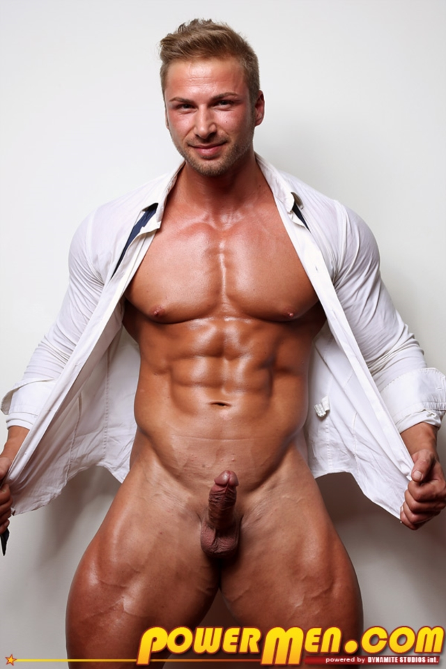 Kane Griffin Muscle Hunks