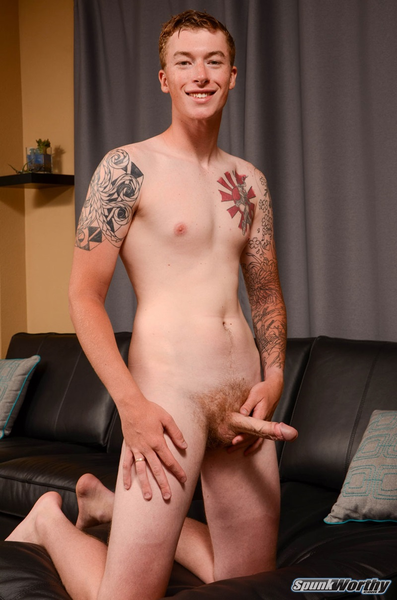 Diggory strokes his huge ginger cock! monster hung brit ;)