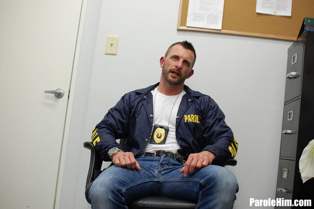 Parole Him – young construction worker Dominic Sol blackmailed by US Parole Officers