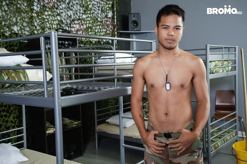 Cesar-Xes-hungry-bottom-bitch-John-Rene-huge-cock-fuck-ass-hole-army-barracks-Bromo-004-Gay-Porn-Pics